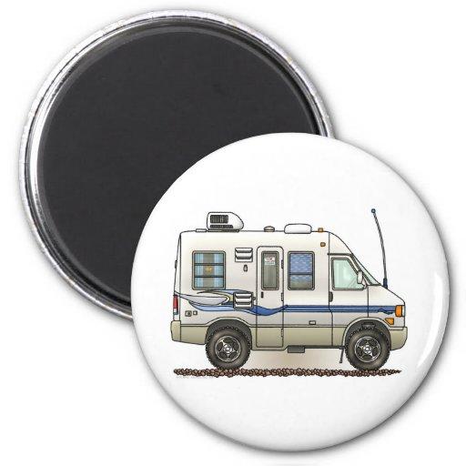 Volkswagen Rialta Reviews: Rialta Winnebago Camper RV 2 Inch Round Magnet