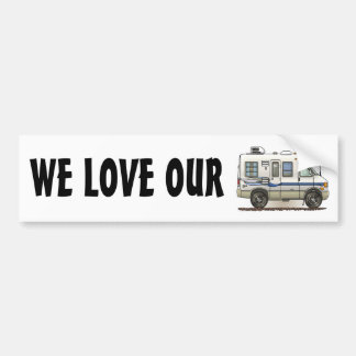 Rialta Winnebago Camper RV Bumper Sticker