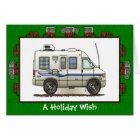 Rialta Winnebago Camper RV Holiday Wish Card