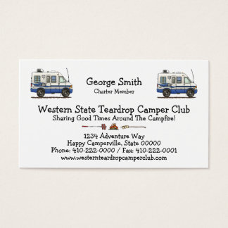 Rialta Winnebago Camper RV HSH Business Card