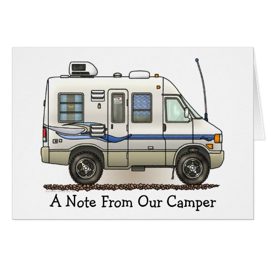 Rialta Winnebago Camper RV M Card