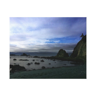 Rialto Beach Olympic National Park Canvas Print