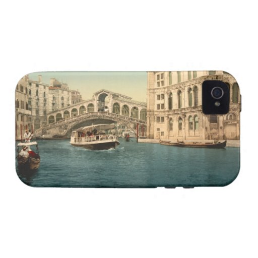 Rialto Bridge and Grand Canal, Venice Case For The iPhone 4