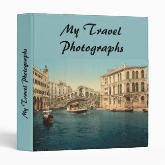 Rialto Bridge and Grand Canal, Venice, Italy Binder