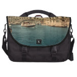 Rialto Bridge and Grand Canal, Venice, Italy Laptop Messenger Bag