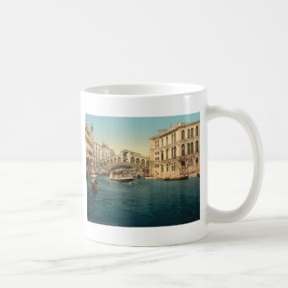 Rialto Bridge and Grand Canal Venice Italy Mug