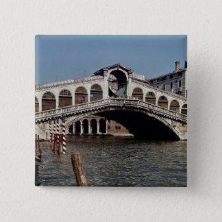 Rialto Bridge, begun 1588 Pinback Button