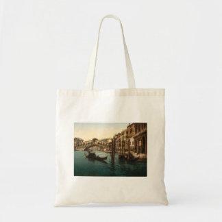 Rialto Bridge I, Venice, Italy Canvas Bags