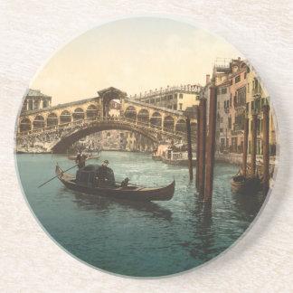 Rialto Bridge I Venice Italy Beverage Coasters