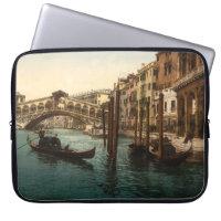 Rialto Bridge I, Venice, Italy Computer Sleeve