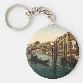 Rialto Bridge I, Venice, Italy Keychain