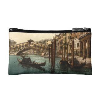 Rialto Bridge I, Venice, Italy Makeup Bag