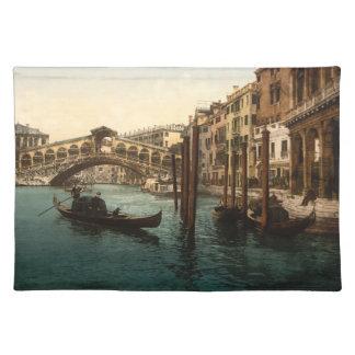 Rialto Bridge I, Venice, Italy Placemats