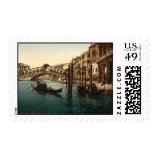 Rialto Bridge I, Venice, Italy Stamp