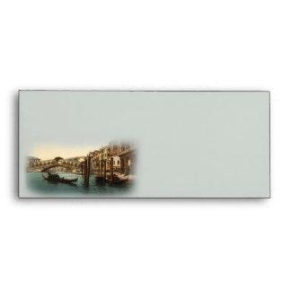 Rialto Bridge I, Venice, Italy Size 10 Envelopes