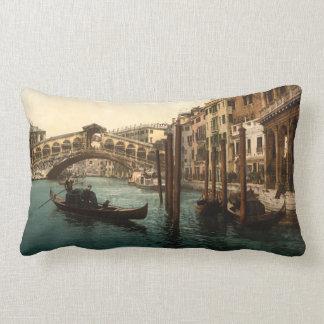 Rialto Bridge I, Venice, Italy Throw Pillows