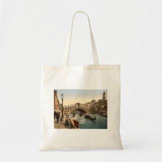 Rialto Bridge II, Venice, Italy Budget Tote Bag