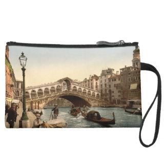 Rialto Bridge II, Venice, Italy Wristlet Purse