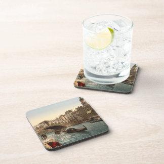 Rialto Bridge II Venice Italy Drink Coasters