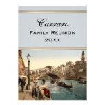 Rialto Bridge II, Venice, Italy Family Reunion Custom Invitation