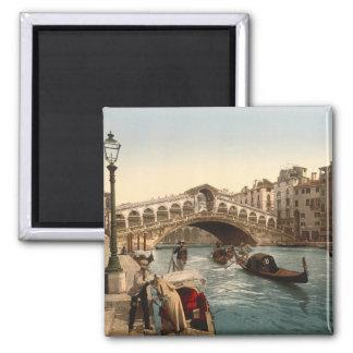 Rialto Bridge II, Venice, Italy Refrigerator Magnet