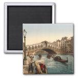 Rialto Bridge II, Venice, Italy Refrigerator Magnets