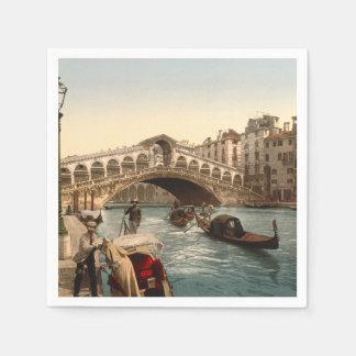Rialto Bridge II, Venice, Italy Napkin