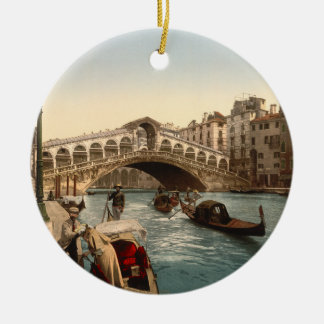Rialto Bridge II, Venice, Italy Christmas Ornaments
