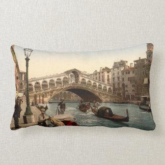 Rialto Bridge II, Venice, Italy Pillows