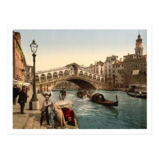 Rialto Bridge II Venice Italy Post Card