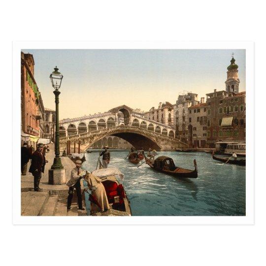 Rialto Bridge II, Venice, Italy Postcard
