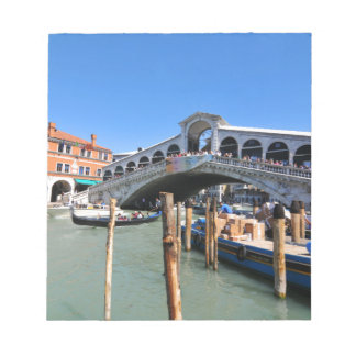 Rialto Bridge in Venice, Italy Notepad