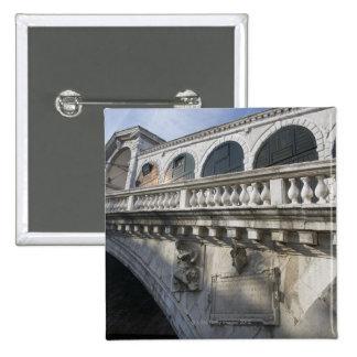 Rialto Bridge over the Grand Canal Venice Italy Buttons