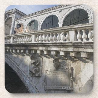 Rialto Bridge over the Grand Canal Venice Italy Drink Coaster