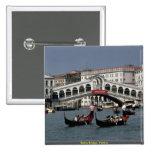 Rialto Bridge, Venice Buttons