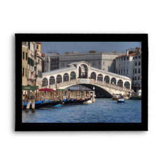 Rialto Bridge Venice Italy Envelopes