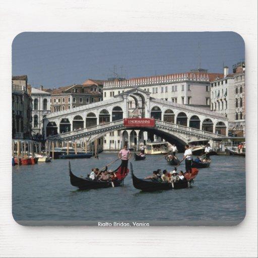 Rialto Bridge, Venice Mouse Pad