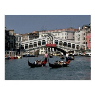 Rialto Bridge, Venice Postcard