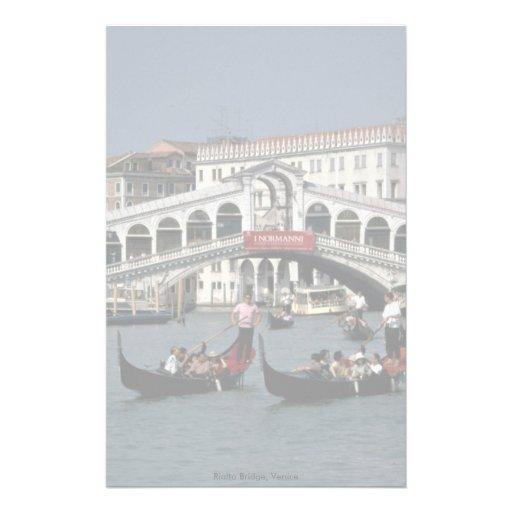 Rialto Bridge, Venice Stationery