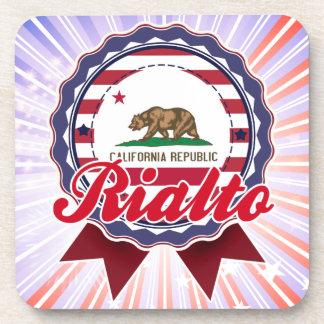 Rialto CA Beverage Coaster