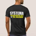 Riazanov Systema de Val Camisetas