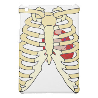 Rib Cage and Heart  Cover For The iPad Mini