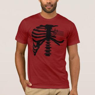 Rib Cage (black) T-Shirt