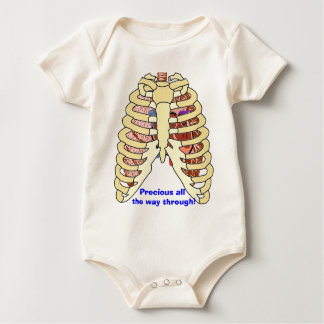 Rib Cage Lungs & Heart Rompers