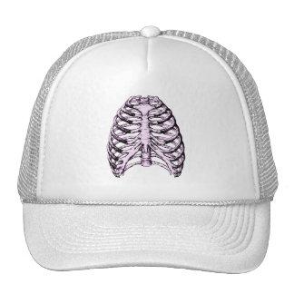 Rib Cage Purple Trucker Hat