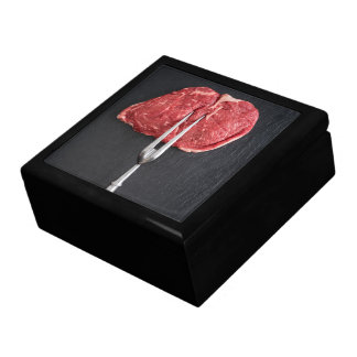 Rib eye steak jewelry box