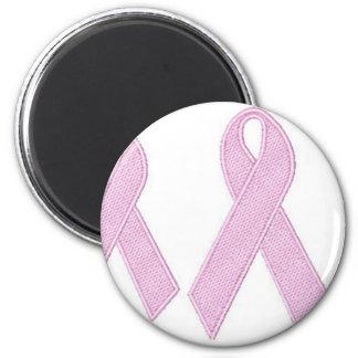 ribban rosado imán redondo 5 cm