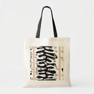 ribbed cell tote bag