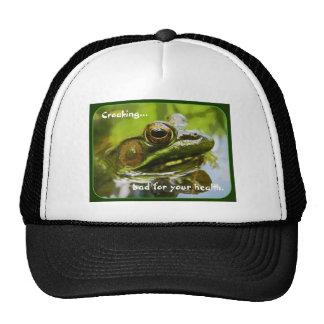 Ribbeting News Trucker Hat