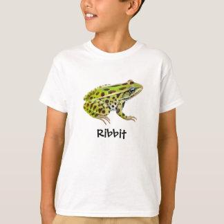 Ribbit Frog Kids T-Shirt